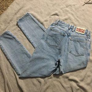 Vintage Light wash Bongo Mom jeans